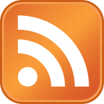 RSS Blog feed icon at local view
