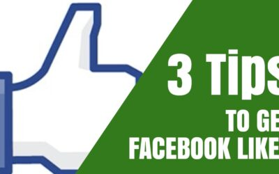 3 Tips To Get Likes To Facebook Business Pages
