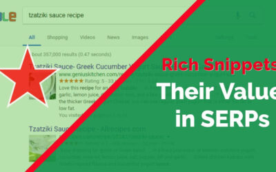 Rich Snippets and Their Value in SERPs