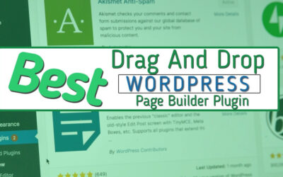 How to Choose the Best Drag and Drop WordPress Page Builder Plugin in 2020