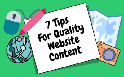 7 Tips For Quality Website Content
